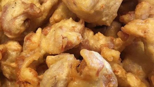 Golden Fried Popcorn Chicken (DF)