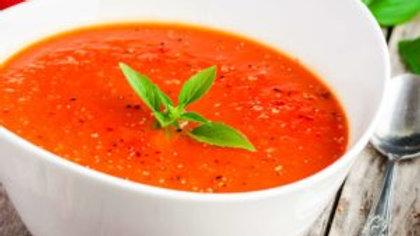 Roasted Garlic Tomato Bisque