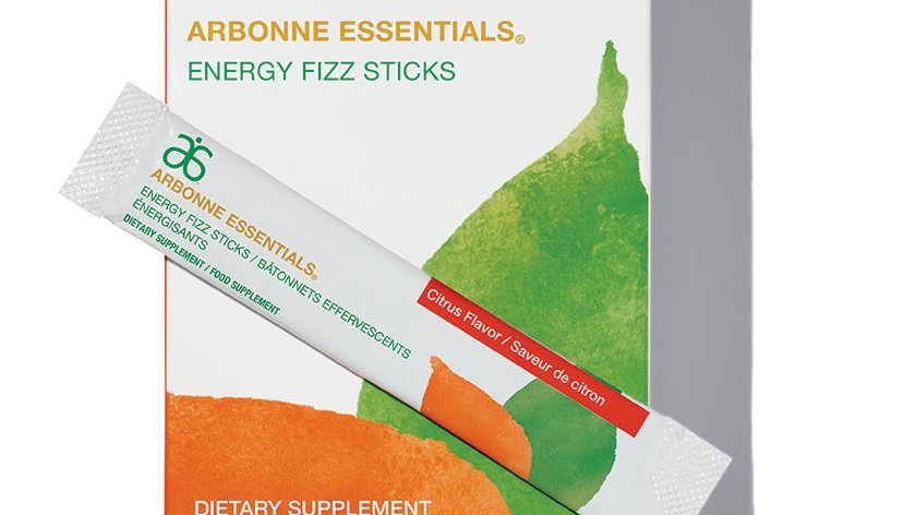 Arbonne EnergyFizz Sticks