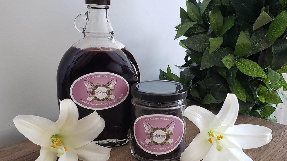 The Elderberry Fairy - Elderberry Syrup - Small (8oz)
