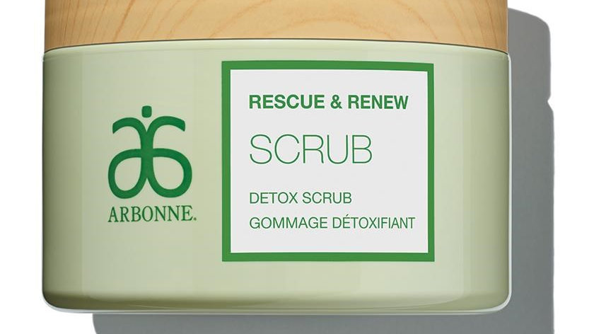 Arbonne Rescue & Renew Detox Body Scrub