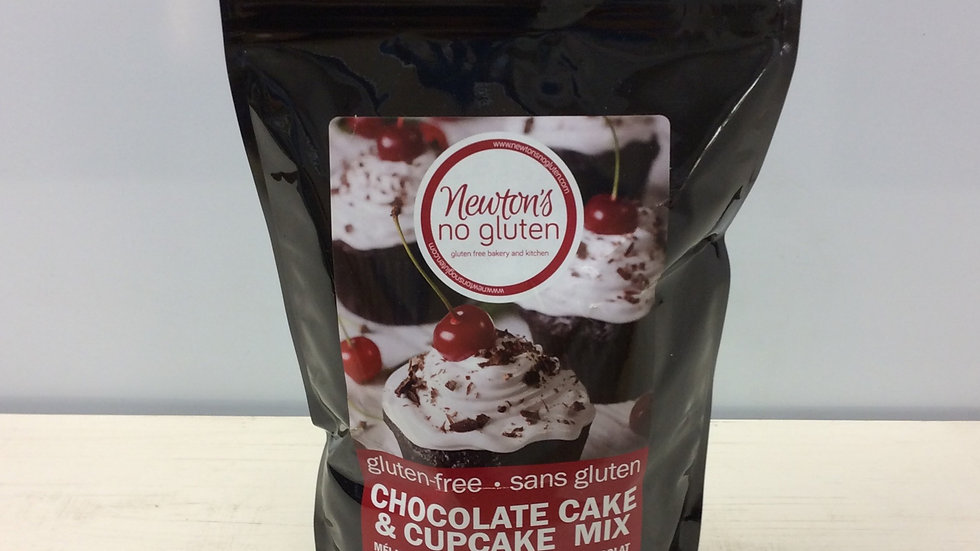 Newton's No Gluten Chocolate Cake and Cupcake Mix
