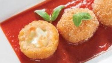 LivBon Arancini - Vegan Peas & Cheese