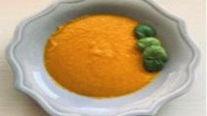 Creamy Thai Basil Carrot Soup