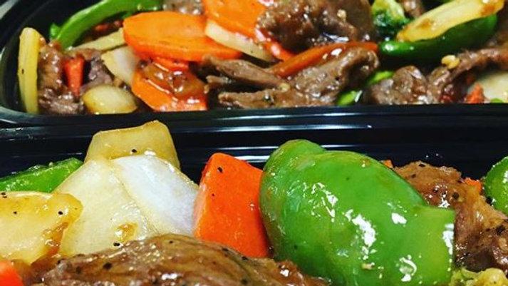 Stirfry - Black Pepper Beef (DF)