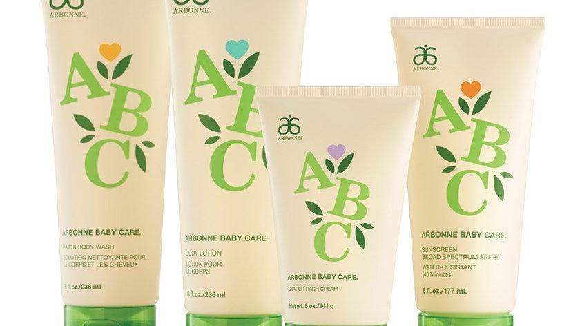 Arbonne ABC Baby Care Set