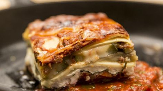 Frozen Roasted Garlic and Vegetable Lasagna