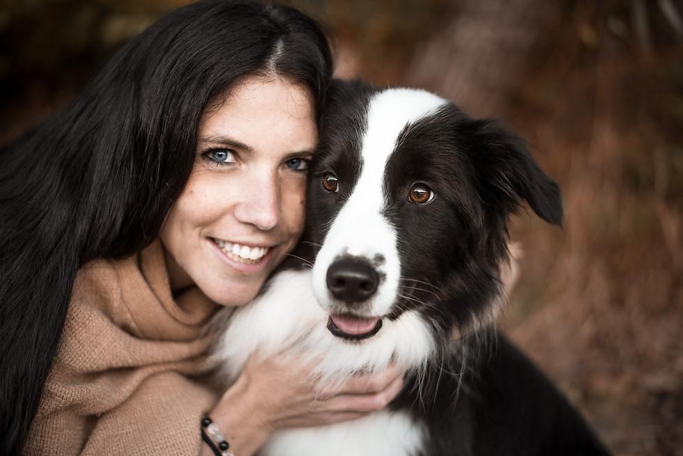 Porträt Mensch Tier Fotografie Bern