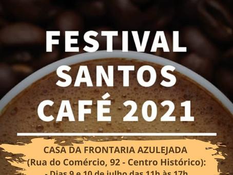 Festival do Café 2021 em Santos