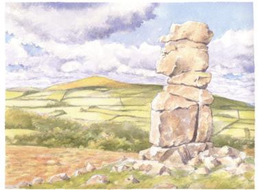 Bowerman's Nose, Dartmoor