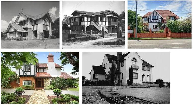 Queensland Tudor Revival Houses