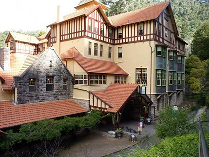 Jenolan Caves House - a great hotel designed by Walter Liberty Vernon