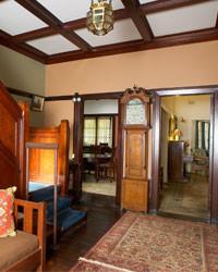 The foyer of Tulkiyan, grand federation home in Gordon, NSW