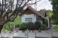 Fenton bungalow 52 Stanton Road Haberfield NSW