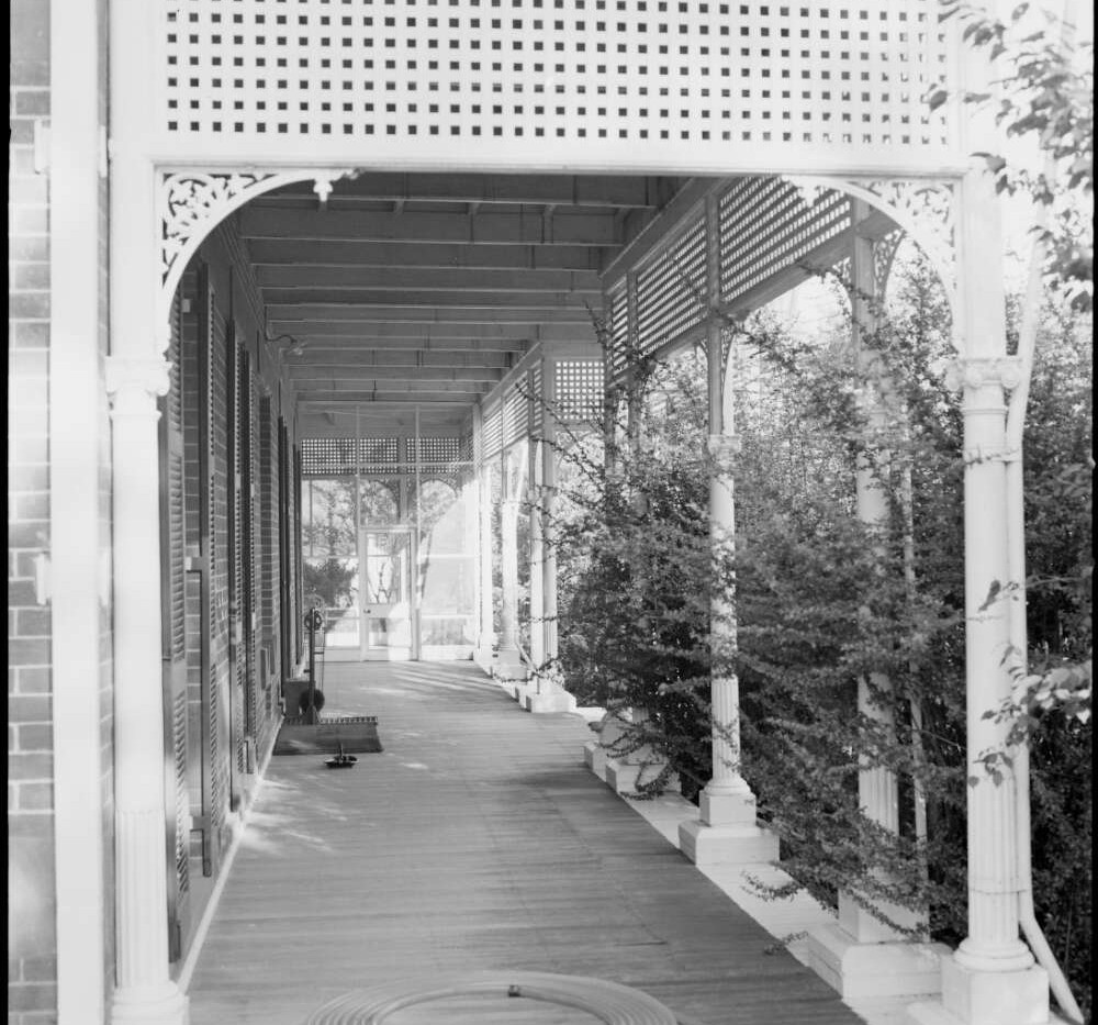 Verandah at Belltrees Homestead, Scone.j