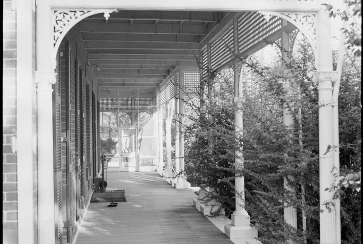 Verandah at Belltrees Homestead, Scone.j