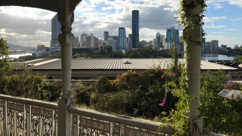 View from Lamb House, Kangaroo Point