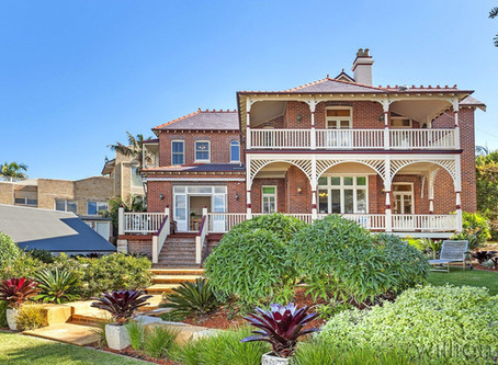 Waterfront Drummoyne Federation home  the most viewed listing...