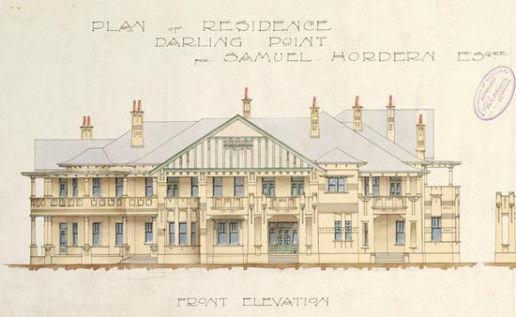 babworth-house-front-elevation-1912-stat