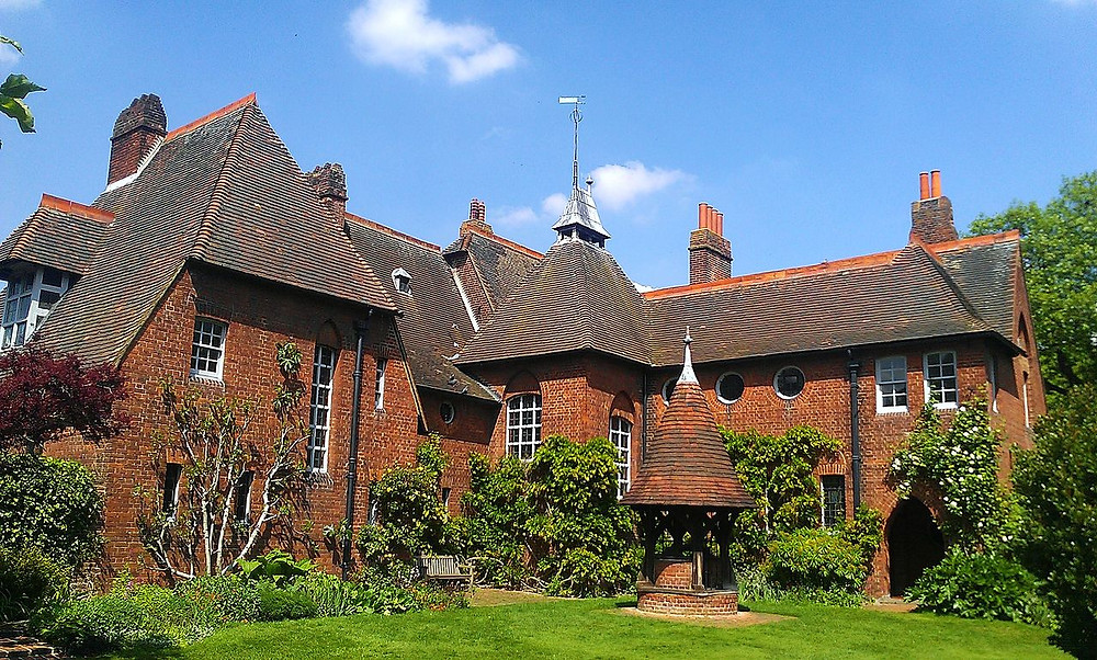 Red House is a significant Arts and Crafts building located in the town of Bexleyheath in Southeast London, England. Co-designed in 1859 by the architect Philip Webb and the designer William Morris