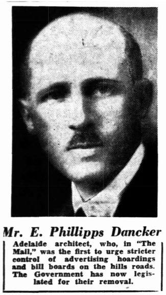 Architect E Phillips Dancker
