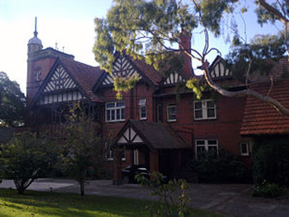 Edzell Mansion Toorak, extended by Walter Butler