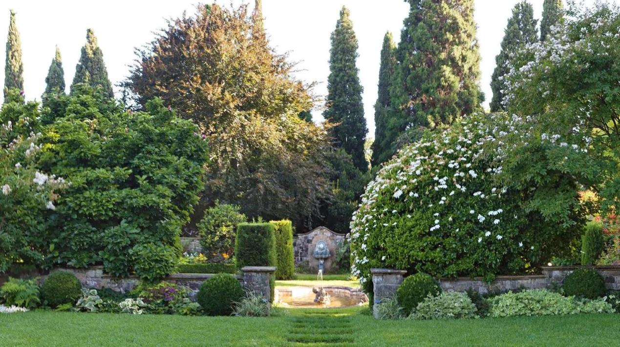Cranlana garden view