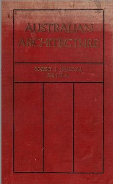 Australian Architecture Haddon