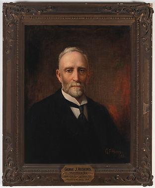 George J. Hoskins, ironmaster, founder o