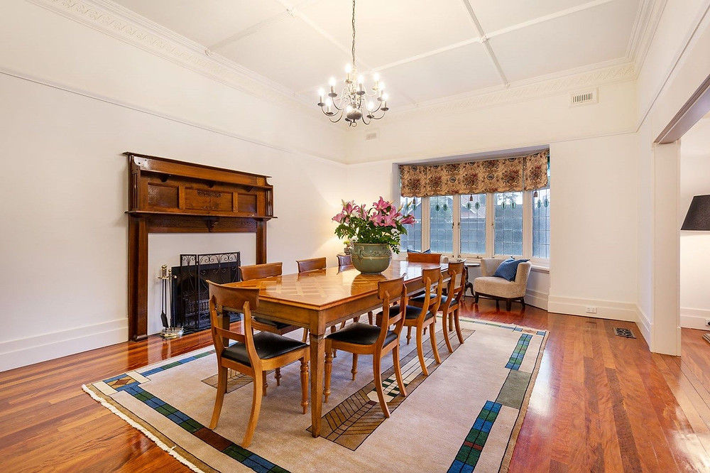 Dining room, Sherwood, 38 New Street, Brighton VIC 3186