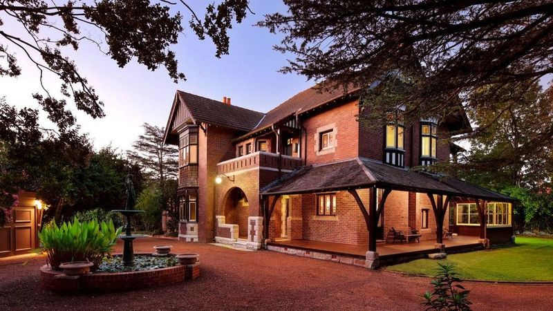 The landmark Redleaf Estate occupies four titles and sold for $8 million to Leesa and Paul Fitzgerald.
