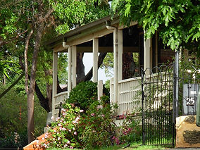 The Cliffe east verandah