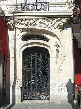 446px-Immeuble_rue_de_l'église_détail_Po