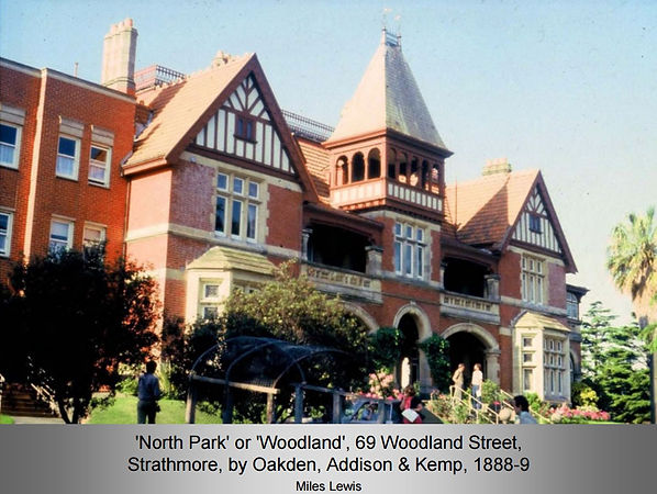 """North Park"" Mansion, 69 Woodland Street, Strathmore"