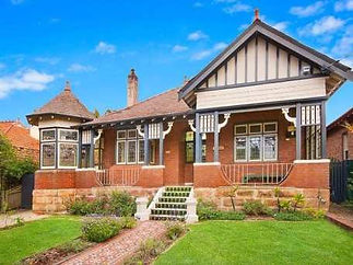 Haberfield House in Gothic Queen Anne style