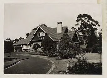 Hindfell, 11A Lucinda Ave Wahroonga - State Library NSW