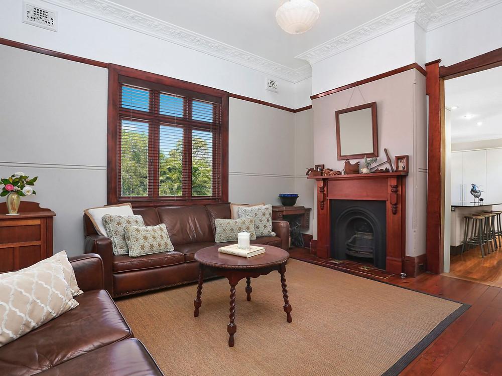 Sitting room at 57 Kent Street, Epping NSW
