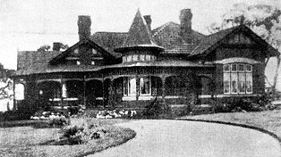 Hedges' residence, 1897 in Canterbury