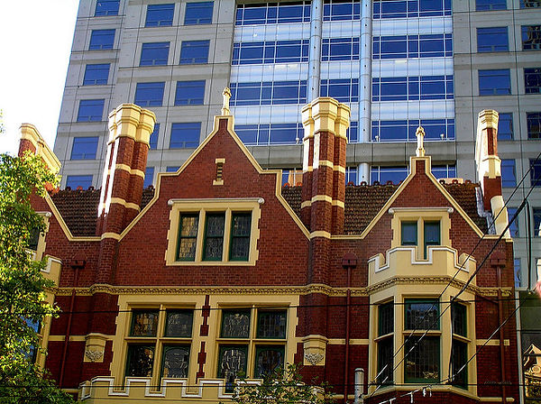 120 Collins Street Melbourne. (110-114) Built 1908