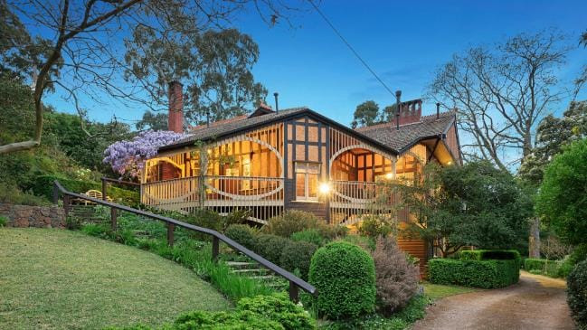 Chadwick House at 32-34 The Eyrie, Eaglemont is for sale for the first time in three decades.
