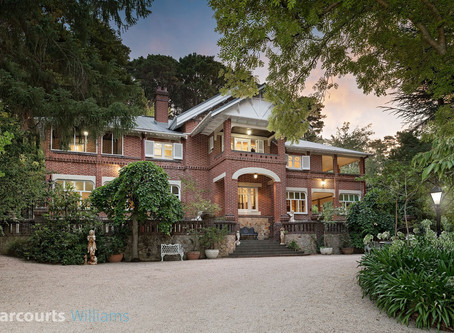 Heritage-rich Federation mansions - Adelaide Hills, and Pymble, NSW