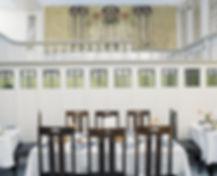 Mackintosh Ladies' Luncheon Room from Miss Cranston's Ingram Street Tearooms