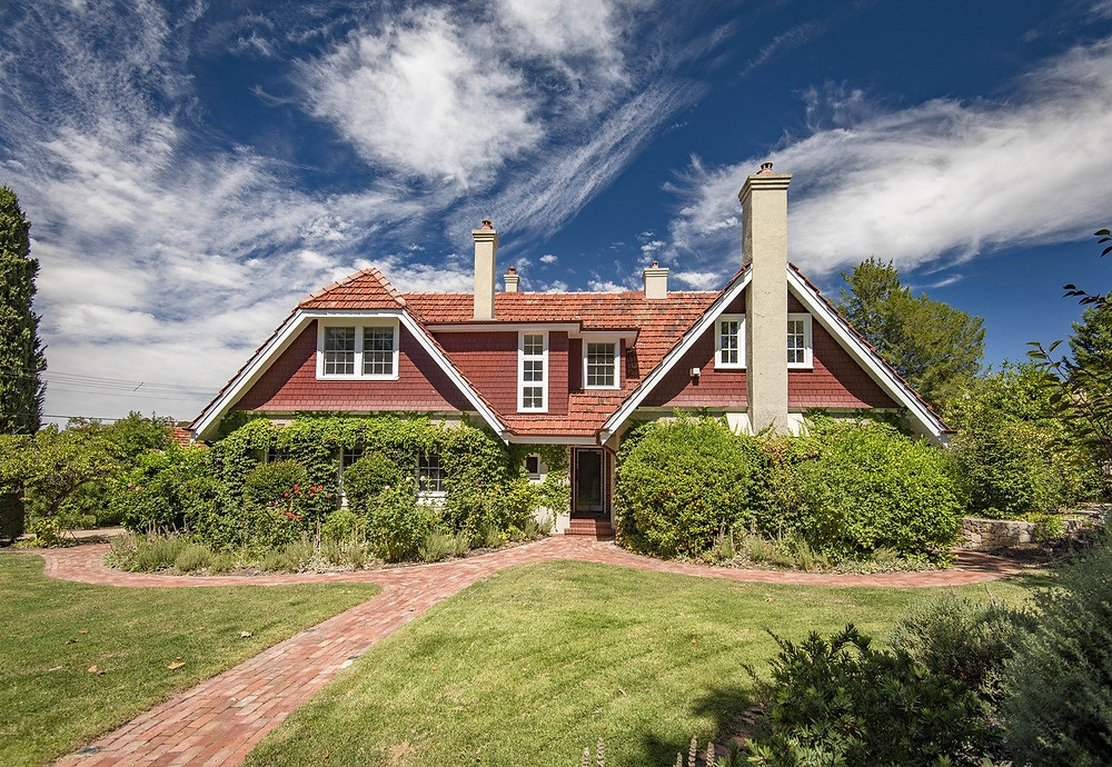 With its tall chimneys and heritage features, this former doctor's surgery in Griffith ACT is a rare offering