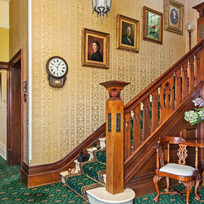 Fine timber staircase