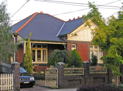 Federation Bungalow in Arts an Crafts style, Rosebery NSW