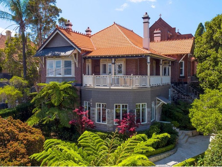 Mosman 'Merchant Mansions' still in demand