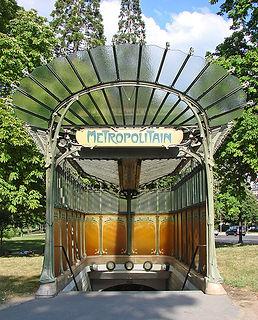 Metro Entrance by Hector Guimard