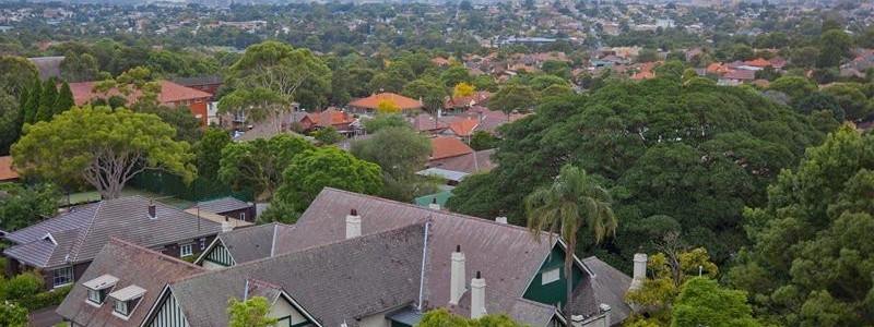 The Bunyas Aerial View