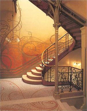 Stairway of Tassel House, Brussels