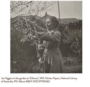Ina Higgins at the garden at Kilenna 191